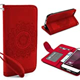 Urcover Mandala Pattern Case Wallet | Apple iPhone 6 Plus/6s Plus | Flip Cover Simil...