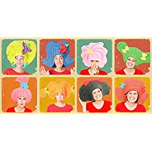 Pack 8 pelucas variadas