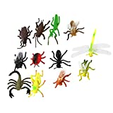 Children's Model Insect Toys Party Tricks Pack of 12 Multicolor