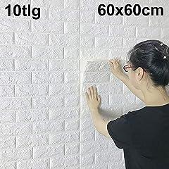 DHOUTDOORS 10 60x60x0.7 cm Wandpaneele