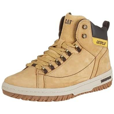 Caterpillar Apa Hi Mens Honey Leather Boots, UK 12