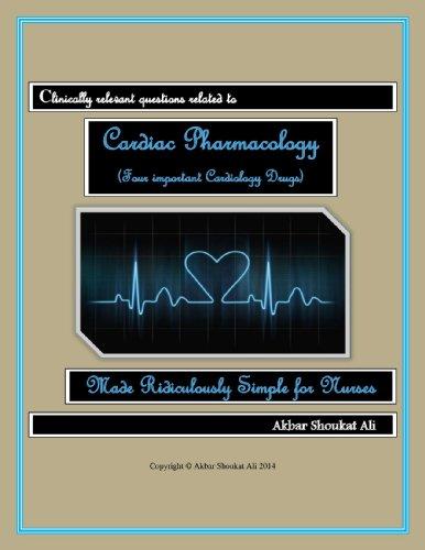Cardiac Pharmacology (Four important Cardiology Drugs) (English Edition) -