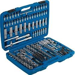 SW Stahl 07630L Industrie und Steckschlüsselsatz Chrom Vanadium , blau