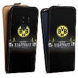 DeinDesign Samsung Galaxy S9 Plus Tasche Hülle Flip Case Borussia Dortmund BVB Stadion