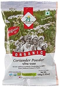 24 Mantra Organic Coriander Powder, 100g