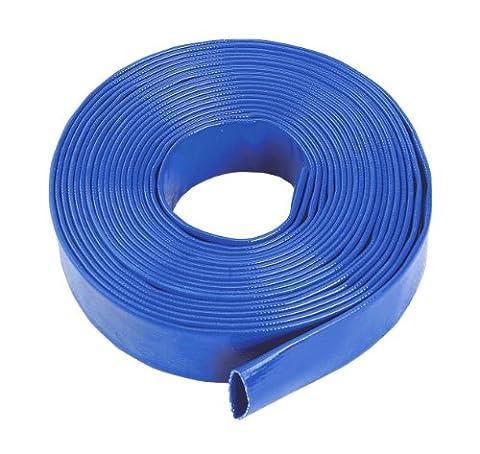 Blue Layflat Water Discharge Hose Pipe Pump Irrigation - 51mm (2