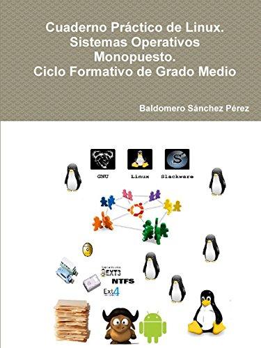 Cuaderno Práctico de Linux. Sistemas Operativos Monopuesto. Ciclo Formativo de Grado Medio por Baldomero Sánchez Pérez