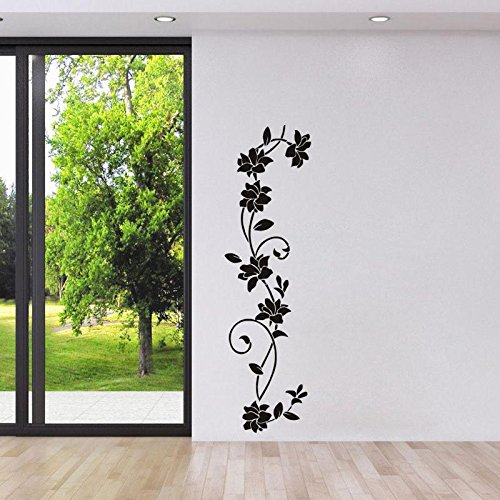 classique-noir-generation-europe-sculpte-une-vigne-de-fleur-de-vigne-autocollants-de-mur-de-papier-p