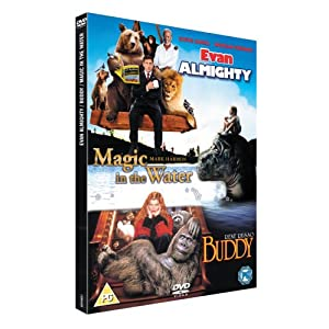 Evan Almighty/Buddy/Magic In The Water [DVD]