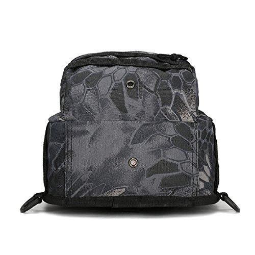 BULAGE Paket M-Paket Brusttasche Tasche Leinwand Reiten Tarnung Feld Bewegung Schulter Diagonal Im Freien Tasche C
