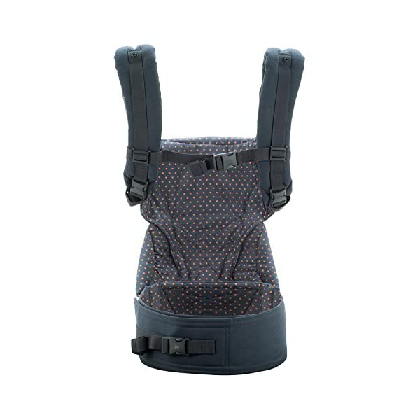 ERGObaby Baby Carrier for Toddler, 360 Dusty Blue 4-Position Ergonomic Child Carrier and Backpack Ergobaby 4 ergonomic wearing positions: front-inward, front-outward, hip and back carry Structured bucket seat keeps baby seated in the anatomically correct frog-leg position Exceptionally comfortable thanks to adjustable, extra-wide waistband to support the lower back;Start with newborn infant insert 0-4 months/7-12lbs, sold separately 4