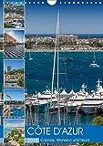 CÔTE D?AZUR Cannes, Monaco und Nizza (Wandkalender 2018 DIN A4 hoch): Perlen an der französischen Riviera (Monatskalender, 14 Seiten ) (CALVENDO Orte) [Kalender] [Apr 08, 2017] Viola, Melanie - Melanie Viola