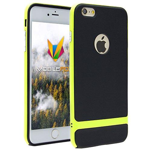 Mobilefox Viola Schutzhülle Hybrid Soft Case Apple iPhone 5/5S/SE Schwarz-Gold Schwarz-Grün