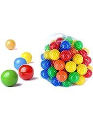 500 pièces de boules colorées pour les enfants, les bébés et les animaux, diamètre de 55mm, certificat de TUV