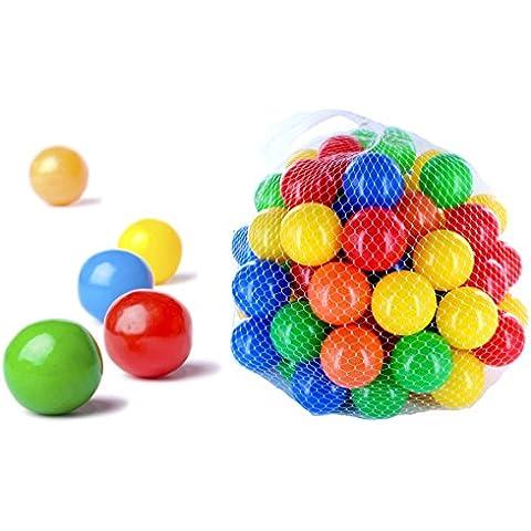 100 pezzi di palline colorate per i