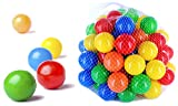 200 Stück bunte Bälle für Kinder, Babys und Tiere , 55mm Durchmesser Kinder ab 0