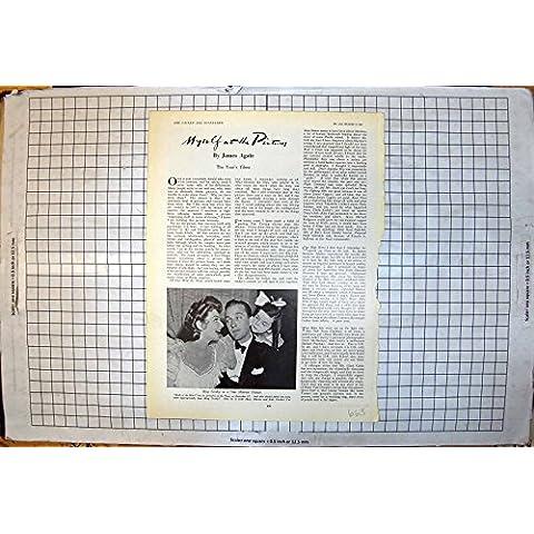 Stampa D'annata della Nascita di Bing Crosby