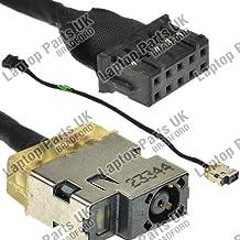 HP Envy 15-j000, 15-j100, 15-q000, 15-q100, 15-q200, 15-q300, 15-q400, 15t-j000, 15t-j100, 15t-q100, 15t-q400, 15z-j100, 15z-q100 DC Power Jack, Conector de Alimentación, Enchufe, Conector de puerto con el cable p/n: 7133705-YD4, CBL00361-0200