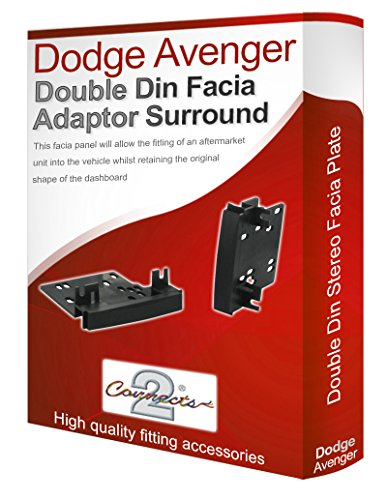 dodge-avenger-stereo-radio-facia-fascia-adapter-panel-plate-trim-cd-surround-car