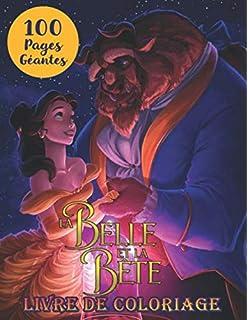 Amazon Fr Bloc Art Therapie La Belle Et La Bete Collectif Disney Livres