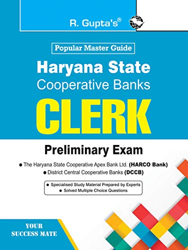 Haryana State Cooperative Banks: CLERK Preliminary Exam Guide