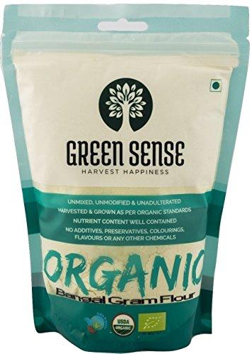 Greensense Organic Besan (Bangal Gram Flour) – 500 gms