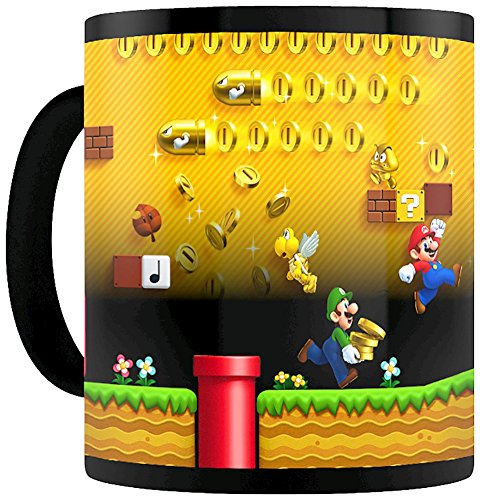 Nintendo Mugs, Ceramic, Multi-Colour, 11 oz Best Price and Cheapest