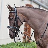 Struttura regolabile a seconda del collo del cavallo. , Black(BL), Taglia unica