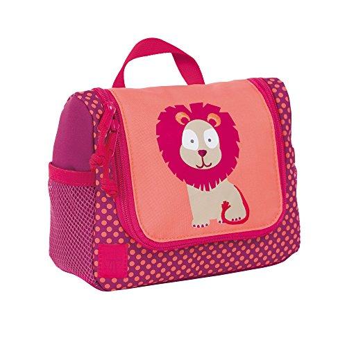 lassig-lassig-waschbeutel-mini-washbag-wildlife-lowe-beauty-case-da-viaggio-20-cm-rosa