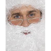 Accessori x costume natalizio occhiali babbo natale *01219