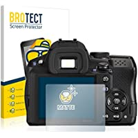 BROTECT Schutzfolie Matt Pentax K-30 Displayschutzfolie [2er Pack] - Anti-Reflex Displayfolie, Anti-Fingerprint, Anti-Kratzer