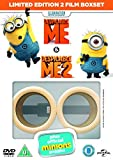 Despicable Me / Despicable Me 2 (with Limited Edition Minion Goggles) [DVD] [2013] by Steve Carell
