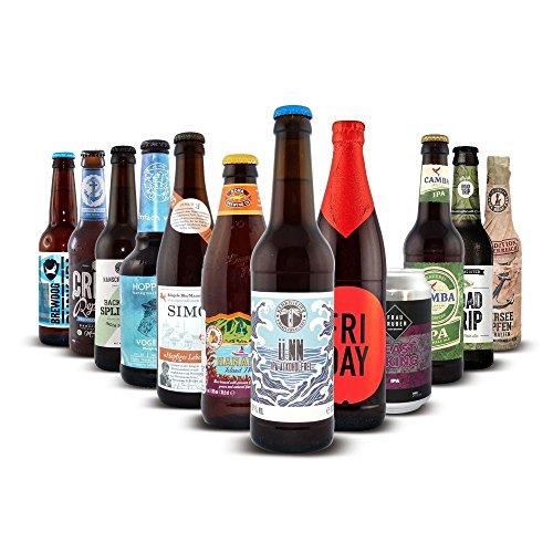 Craftbeer-Shop IPA - Bier Paket, MEHRWEG (9 x 0.33 l, 2 x 0.35 l, 1 x 0.66 l) -