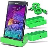 Samsung Galaxy Core II SM-G355H (Micro USB de carga Soporte Dock Base de carga Soporte cargador para el escritorio de Gadget Giant®