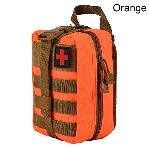 FJYBOA Rucksack Nylon First Aid BagMolle Medical Pouch EMT EmergencySurvival IFAK Utility Car Airsoft