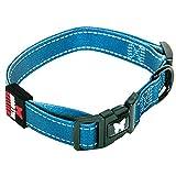 Martin Sellier Hundehalsband aus nylon Reflex Blue Martin Sellier 45-65 cm