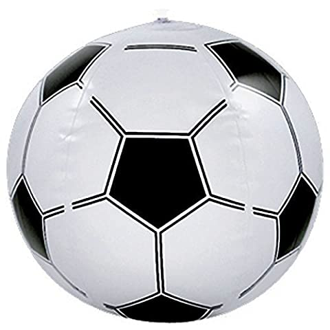 Wholesale Inflatable Footballs - Box of 12 by Partyrama