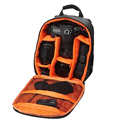 J Camera Sling Backpack Camera Bag for All DSLR SLR Canon Nikon Sigma Olympus Camera Cameras
