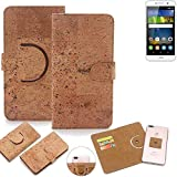 K-S-Trade 360° Cover cork Case for Huawei Y6Pro LTE |