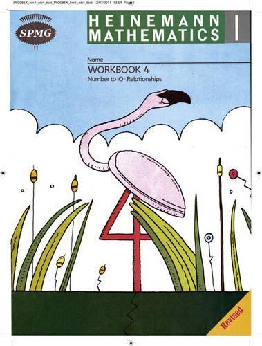 Heinemann Maths 1 Workbook 4 8 Pack: Workbook 4 Year 1