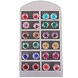 Accessher Enamel Stud Earring For Women ...