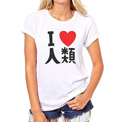 Sora No Game No Life White Damen T-Shirt Weiß