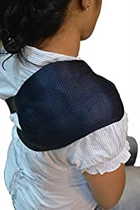 Easy Ice Shoulder/Neck Pain Relieving Cold Hot Therapy Pack With Belt-Blue_EIs514