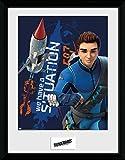 GB eye Ltd Thunderbirds Are Go, Thunderbird 1, Framed Print 30x40cm, Various