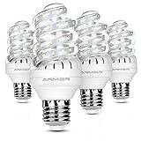 Bro.Light E27 LED Lampe, 9W LED Mais lampe Leuchtmittel Ersatz für 80W Glühlampe, Warmweiß 3000K, 800 Lumen, 360° Abstrahlwinkel LED Birnen, Nicht Dimmbar, 4er Pack