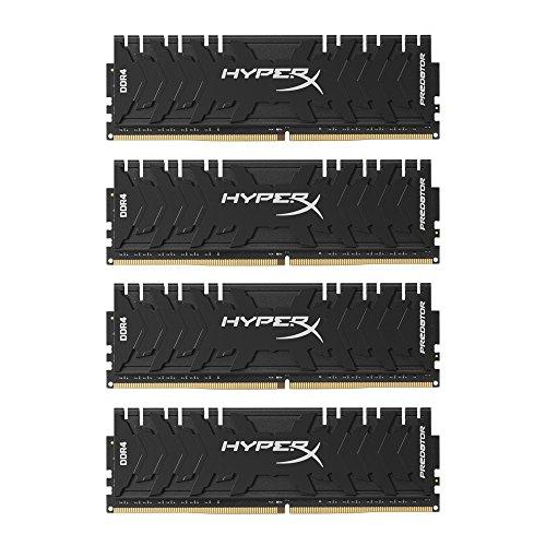 HyperX Predator HX430C15PB3K4/16 - Kit de 16 GB (4 x 4 GB) 3000 MHz DDR4 CL15...