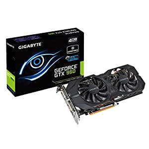 Gigabyte GeForce GV-N960WF2OC-4GD 4GB Graphics Card