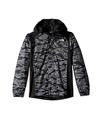 The North Face Kids Boy's Resolve Reflective Jacket (Little Kids/Big Kids) TNF Black Tiger Camo Print Medium (Tiger Camo Black)