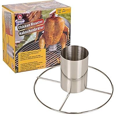 Grill Bier kann Vertikal Huhn Röster Grill Ständer kohlengrillofen Halterung