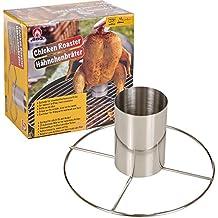 Barbacoa vertical de cerveza puede pollo asador grill soporte cocina barbacoa soporte